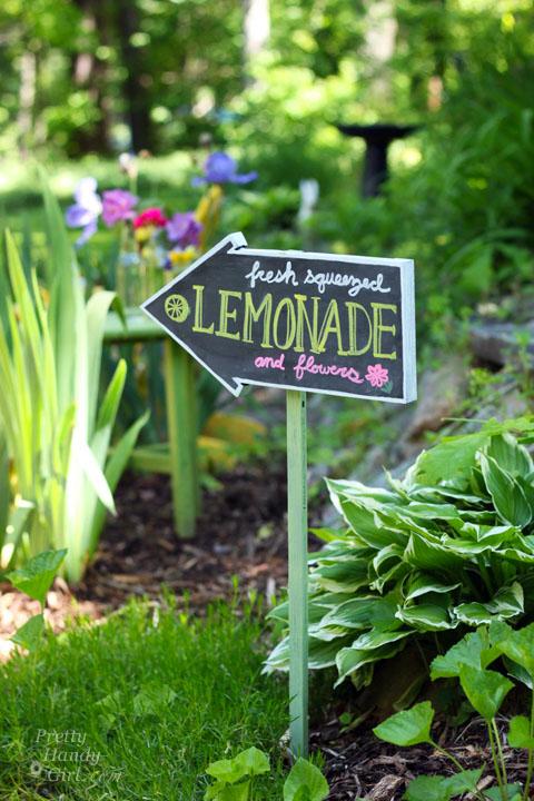 Chalkboard Sign, Arrow | Terrain  |Chalkboard Arrow Sign Plant