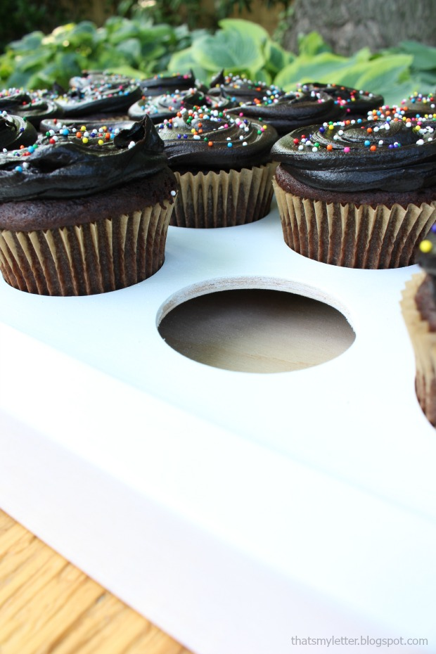 cupcake tray carrier detail
