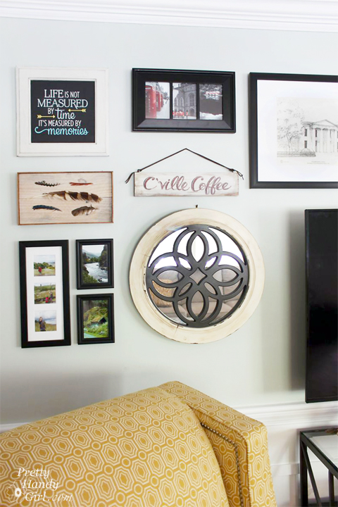 Tips for Creating a Gallery Wall | Pretty Handy Girl