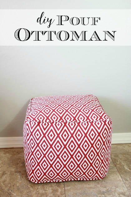 Diy pouf ottoman tutorial and lessons learned pretty handy girl diy pouf ottoman tutorial and lessons learned solutioingenieria Images