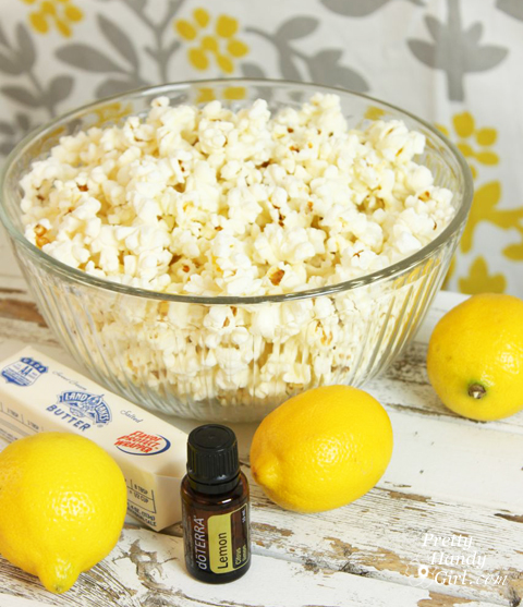 Gifts from your Kitchen - Lemon zest Popcorn