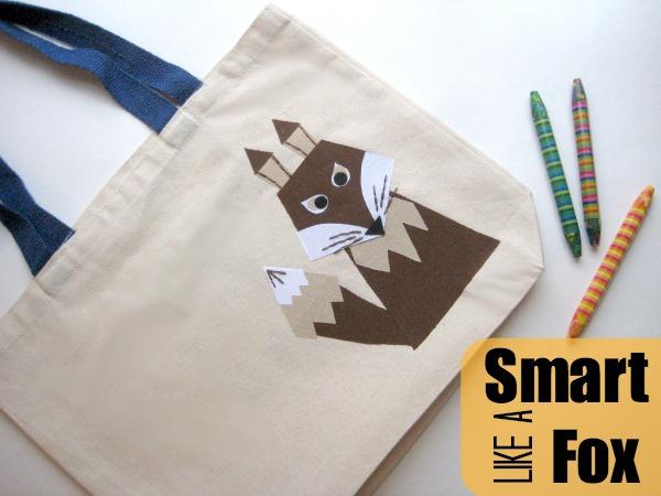 Fox book bag