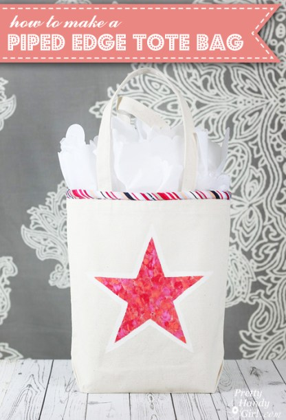 how-to-make-a-piped-edge-totebag