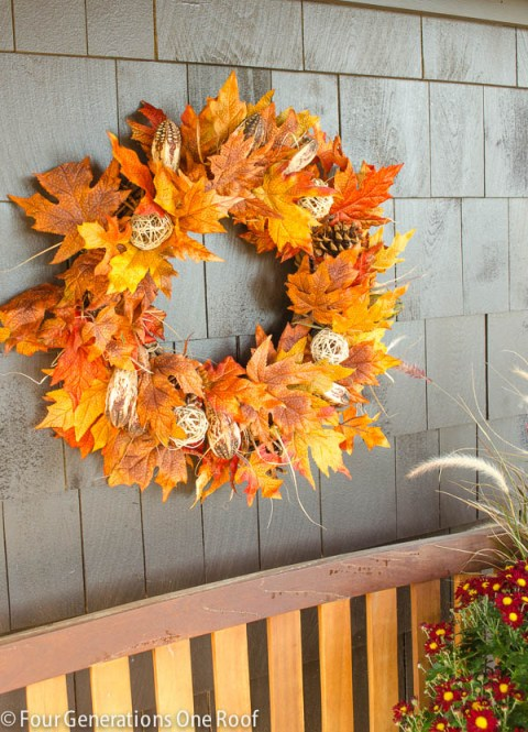 Fall Floral Wreaths
