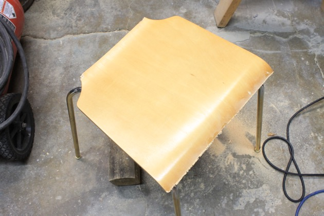 Upcycled Stool from a Chair