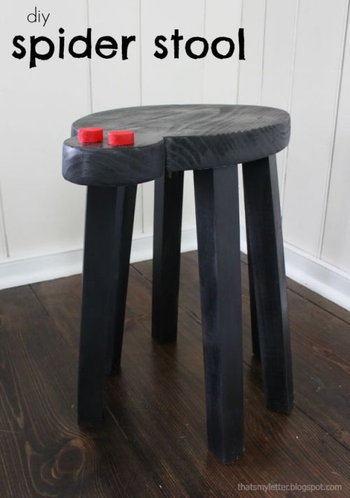 spider stool title