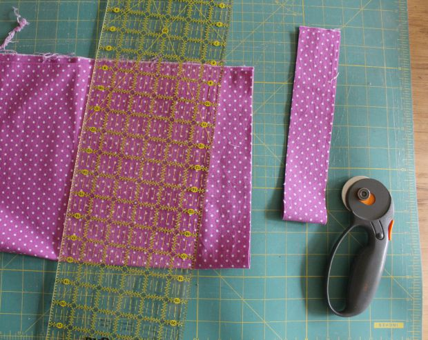 wall quilt step 1