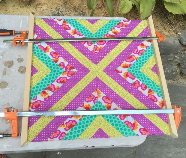 wall quilt step 11