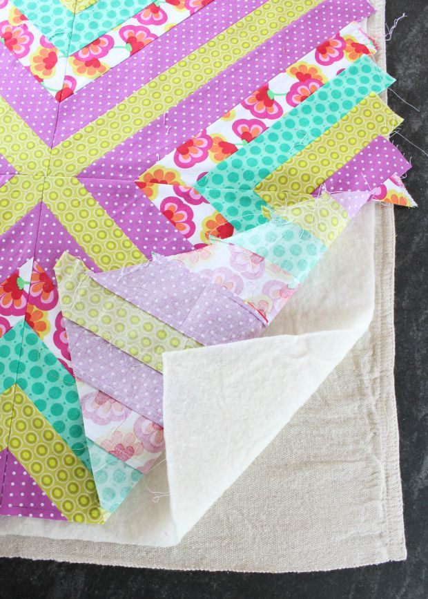 wall quilt step 4