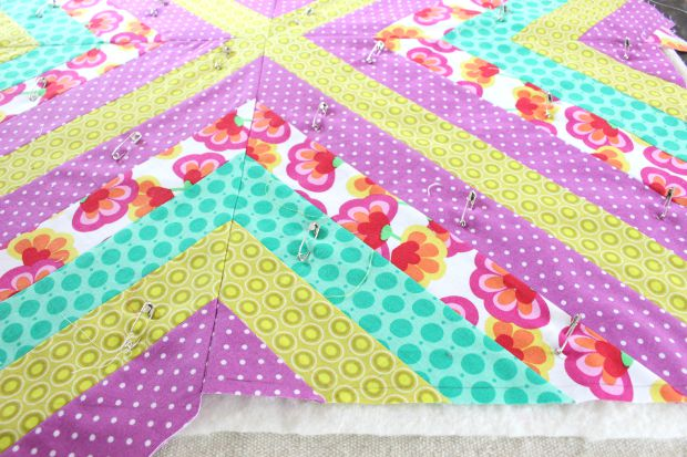 wall quilt step 5