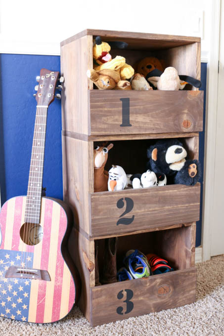 Attractive These DIY Stacking Cubbies Are A Great Storage Solution For Stuffed  Animals, Shoes, And
