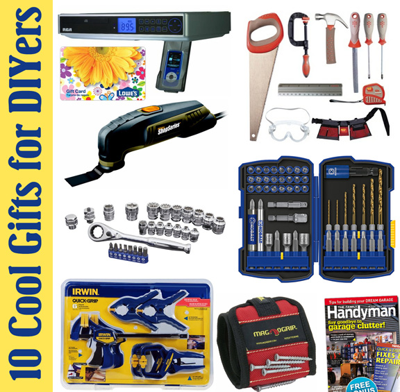 10 gifts for handy man