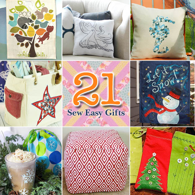 21 Sew Easy Gift Ideas You Can Make Yourself | PrettyHandyGirl