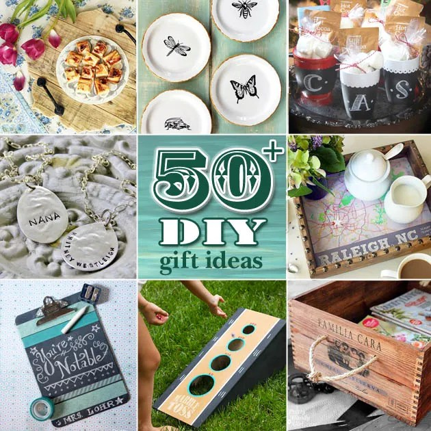 50+ DIY Gift Ideas