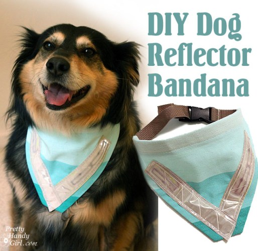Sew a Dog Safety Reflective Bandana
