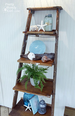 Ladder Shelves