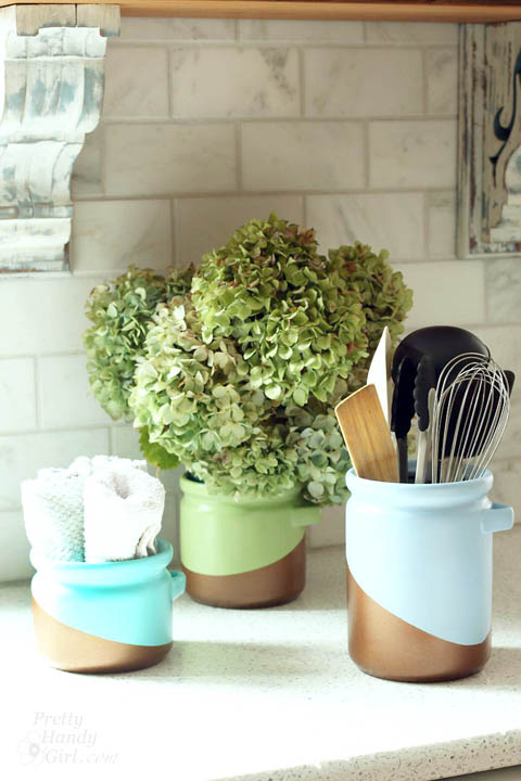 Color Blocked Canisters