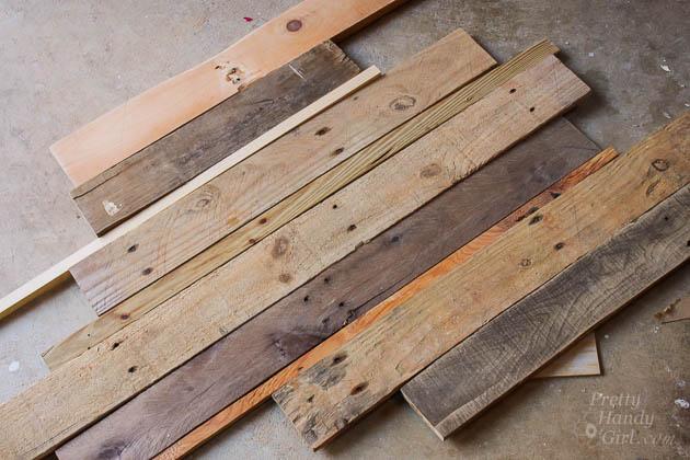Rustic Scrap Wood Shadow Box Frame | Pretty Handy Girl