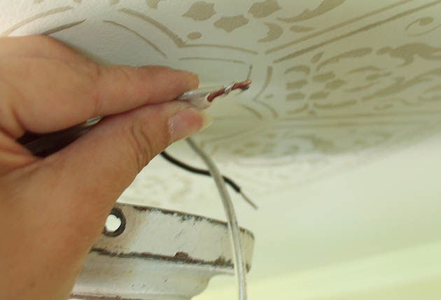 How to Install a New Chandelier | Pretty Handy Girl