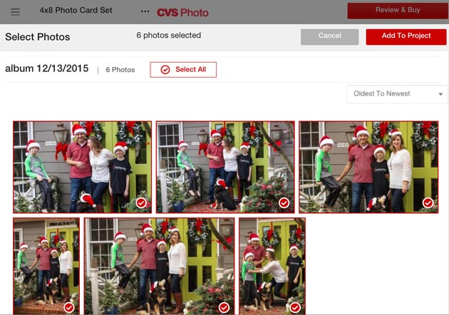CVS Same Day Photo Cards