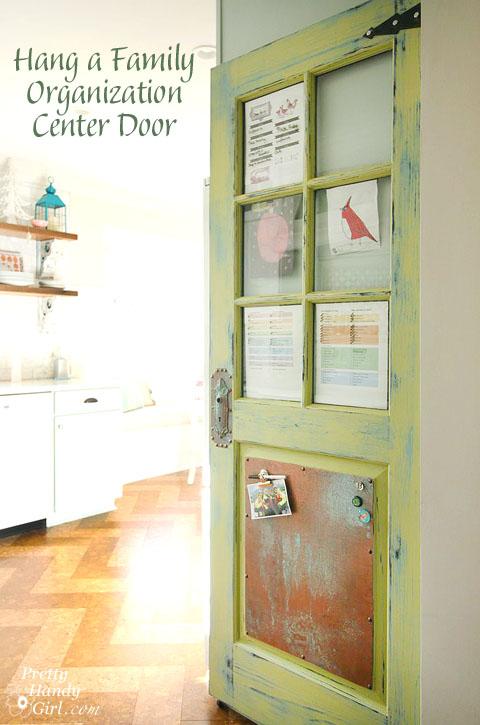 Family Organization Center Door