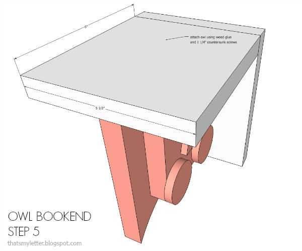 owl bookend step 5 tml