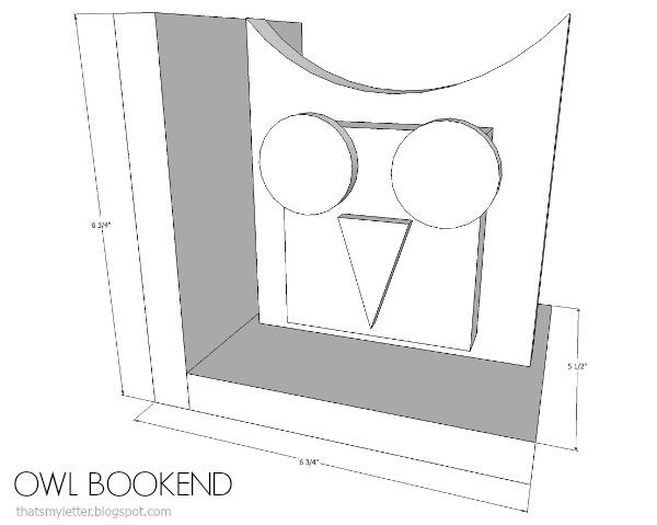 owl bookend tml