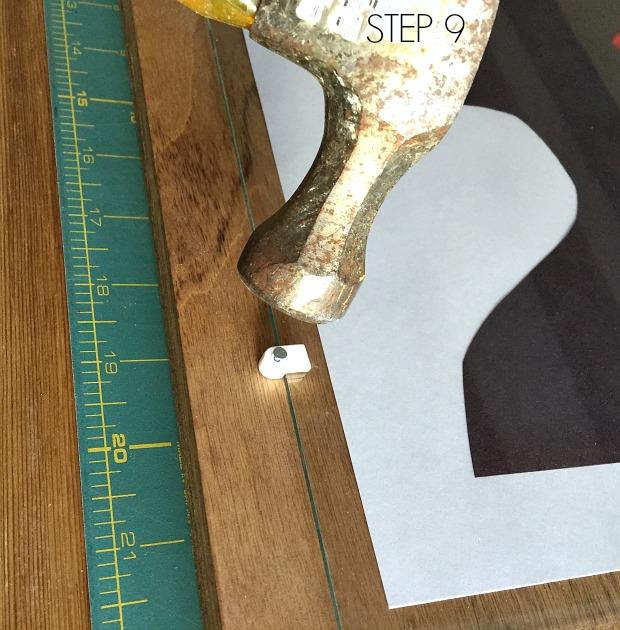 plywood frame step 9