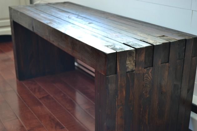 Diy Indoor Outdoor Dining Bench Pretty Handy Girl