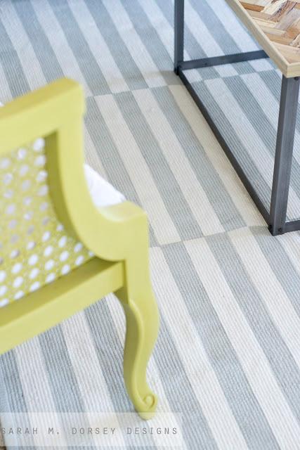 sarah-dorsey-gray-white-striped-rug