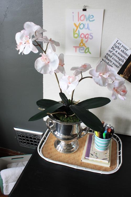 Fake Flower Arranging