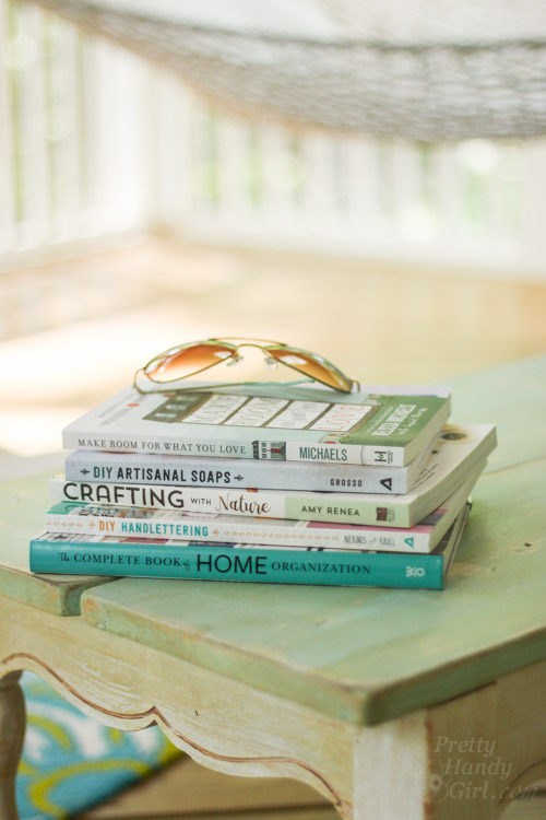 Summer DIY Books to Enjoy | Pretty Handy Girl