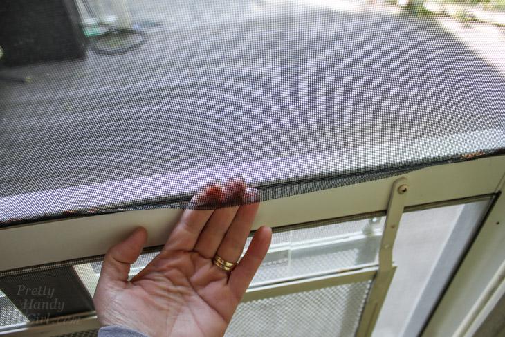 How to Repair Window & Door Screens | Pretty Handy Girl