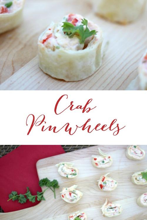 Crab Pinwheels l Pretty Handy Girl