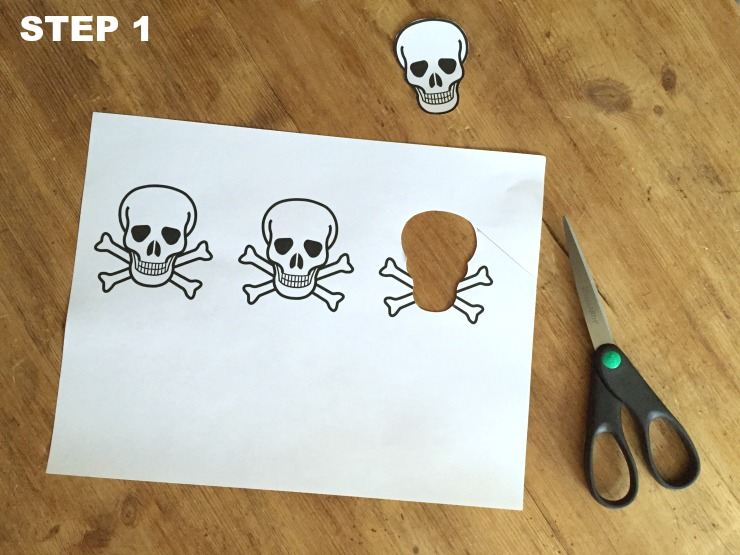clay skull place cards step 1