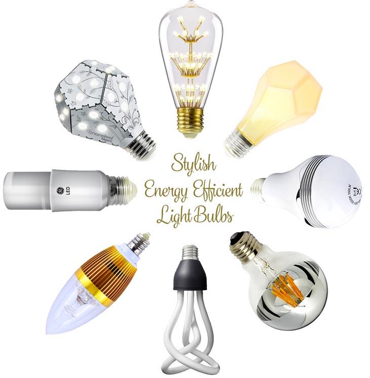 12 Stylish Energy Efficient Bulbs