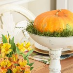 Colorful Fall Tablescape Home Tour: Part 2