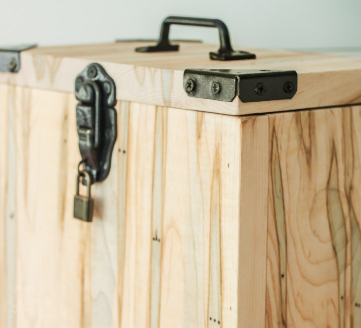 Industrial Charging Station & Lock Box | Pretty Handy Girl