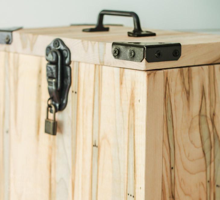 Industrial Charging Station & Lock Box | Pretty Handy Girl