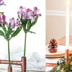 DIY Copper Pipe Centerpiece | Pretty Handy Girl