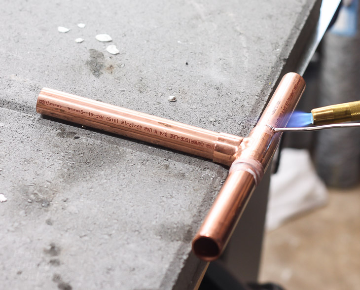 solder-t-piece-copper-pipe