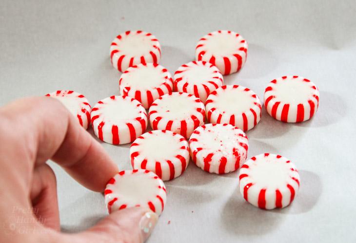 Easy Peppermint Snowflakes | Pretty Handy Girl