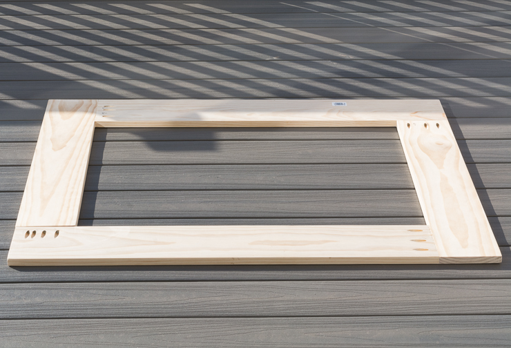 DIY Wood-Framed Mirror Tutorial