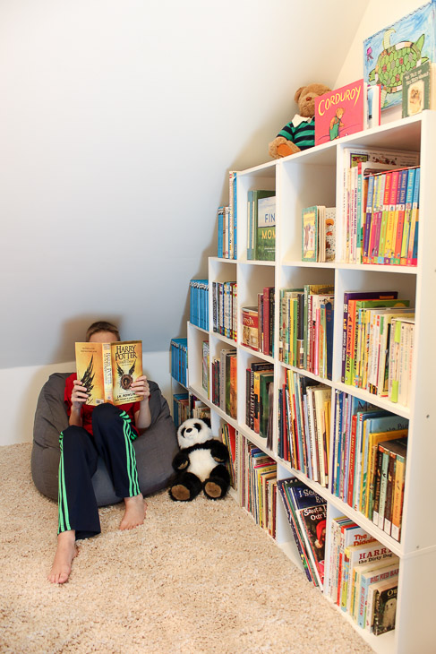 Children's Closet Library with Secret Pass Through | Pretty Handy Girl