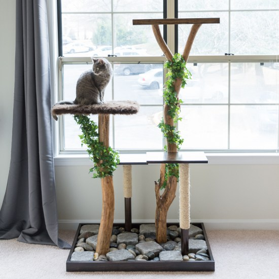 Cat Tree using real branches