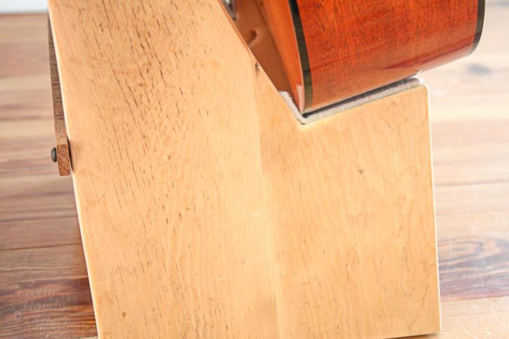 DIY Folding Guitar Stand | Pretty Handy Girl
