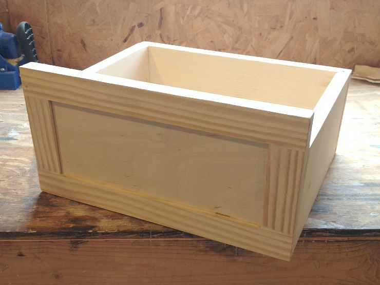 Make drawer for the linen cabinet