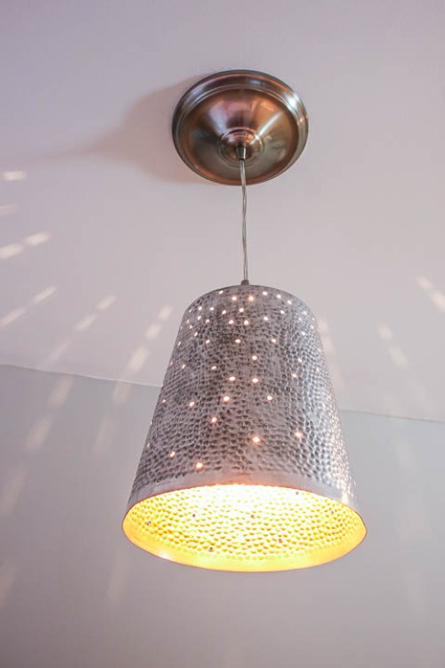 Twinkling Pendant Light - Best Lighting DIYs