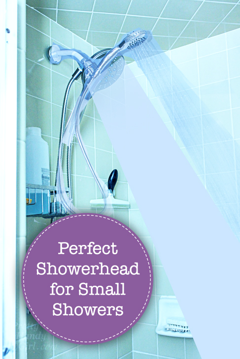 The Perfect Showerhead for a Small Shower