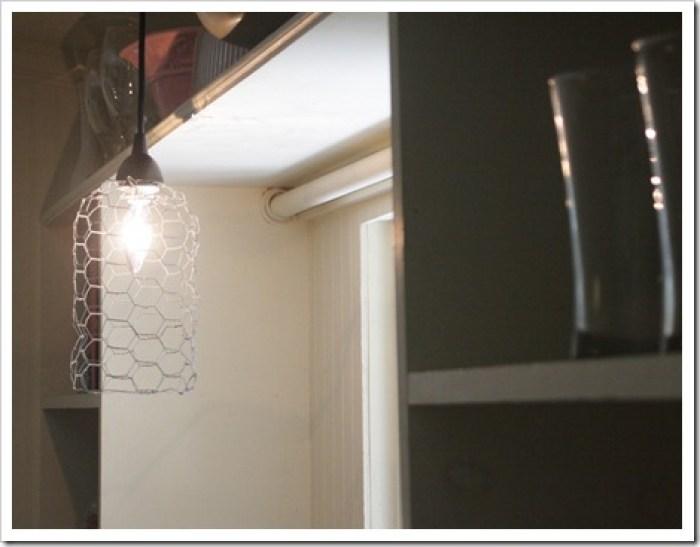 Chicken Wire Pendant - Best Lighting DIYs - Pretty Handy Girl